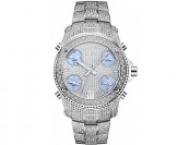 93% off JBW Men's JB-6213-C Silver Stainless Steel Diamond Watch