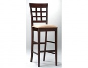 62% off Coaster Solid Wood Bar Stools, Set of 2