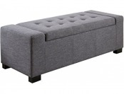 68% off Simpli Home Laredo Storage Ottoman Bench