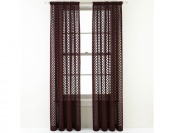 85% off Royal Velvet Stanza Rod-Pocket Sheer Panel