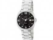 75% off Bertha 6301 Womens Silver Tone Strap Watch