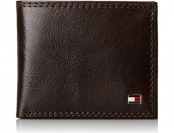 63% off Tommy Hilfiger Leather Jerome Double Billfold Wallet