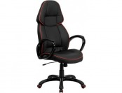 63% off Flash Furniture High Back Black Vinyl Executive Office Chair