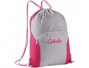 76% off Cabela's Cinchsack II - Black/Red