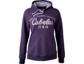60% off Cabela's Women's Solid Game-Day Hoodie