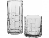 72% off Manchester Glassware 16-pc. Set, Medium Clear