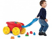 55% off Mega Bloks Block Scooping Wagon Building Set