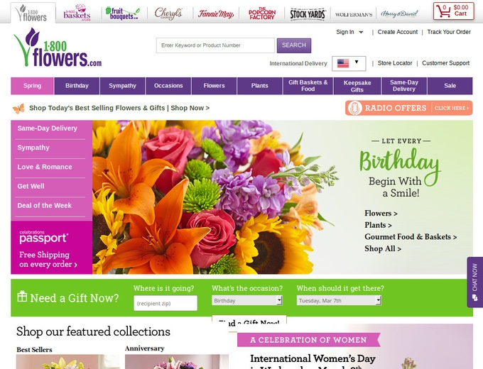 1800flowers com coupon code