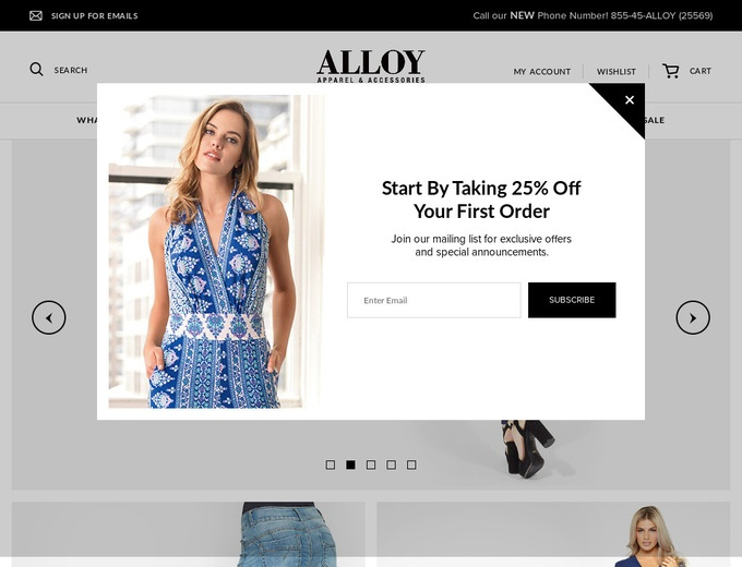 Alloy Clothing Catalog