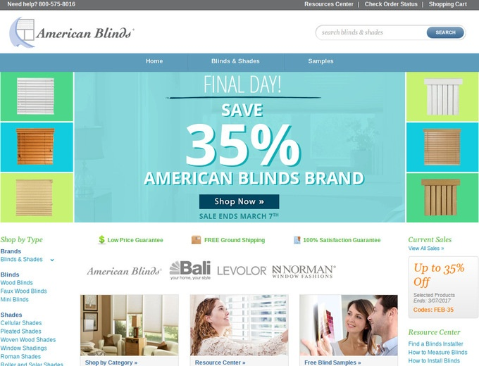 American blinds coupons discount codes