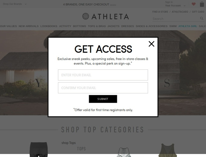 Athleta coupon code 20