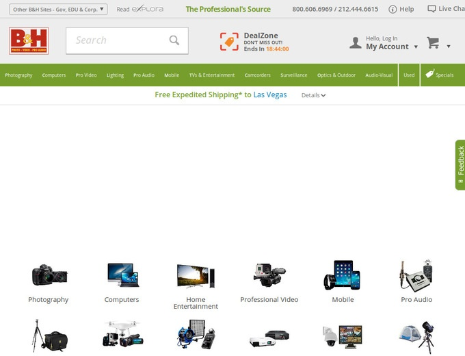 B&H Photo Coupons & B&H Photo Video Promotional Codes