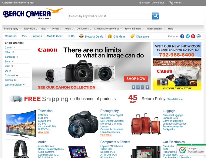 Coupon codes for cameras