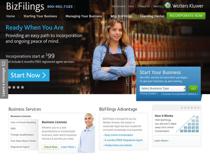 www bizfilings com products nonprofit asp