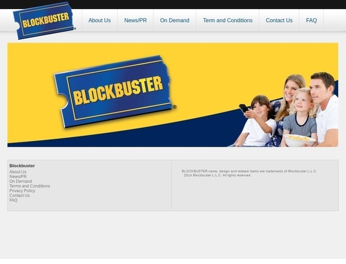 Blockbuster Video Online