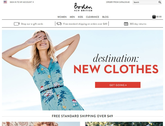Boden discount coupon