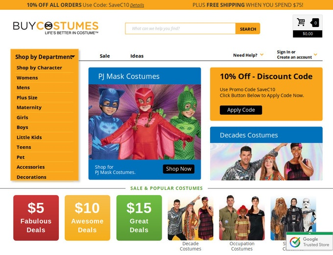 Sep 23,  · Did you know that mtl999.ga is one of the biggest stores on the internet that specialize in Halloween costumes? In fact, it is the top online retailer of costumes all year round. Check it out to see for yourself.