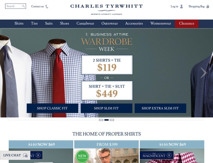 Charles tyrwhitt coupons promo codes - Gardeners supply company coupon code ...