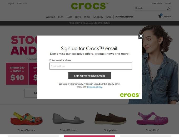 bf06764aac756 Crocs Coupons   Crocs.com Promotional Codes