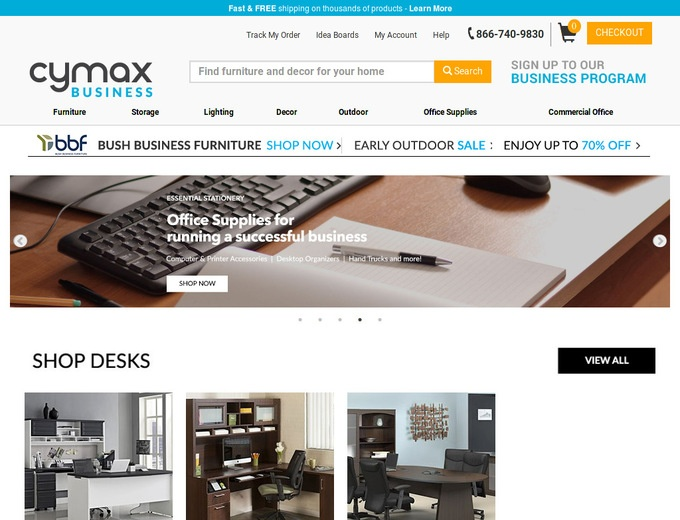 Cymax coupon codes