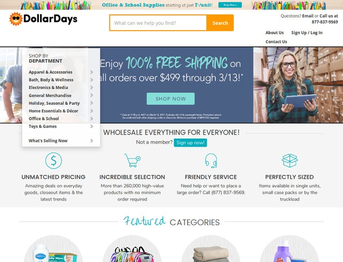 dollar days coupon code
