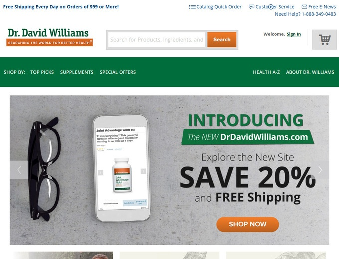 Dr David Williams Vitamins
