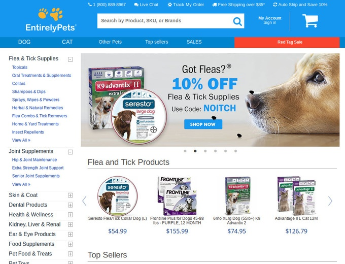 Check Out the Latest Entirelypets Sales and Offers. Updated Daily!
