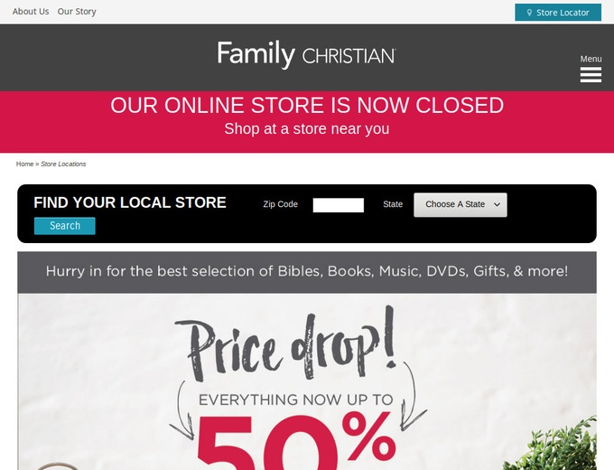 Recently Expired Family Christian Stores Coupon Codes: