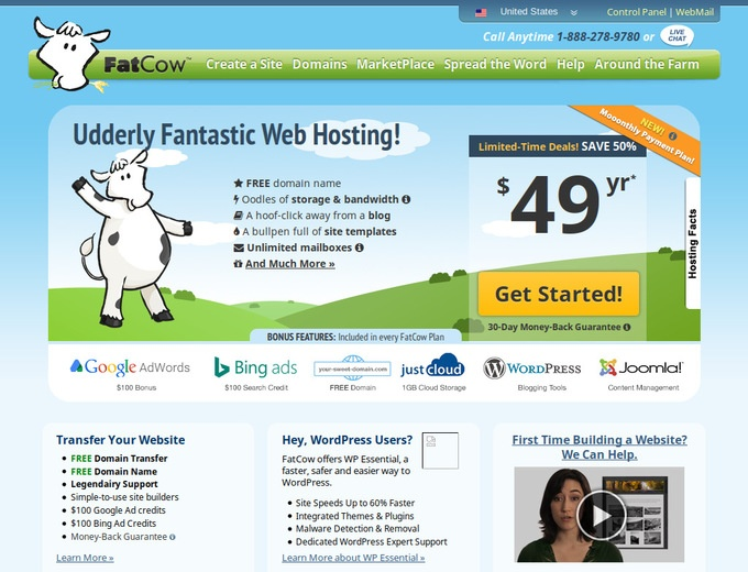 Fat Cow Hosting