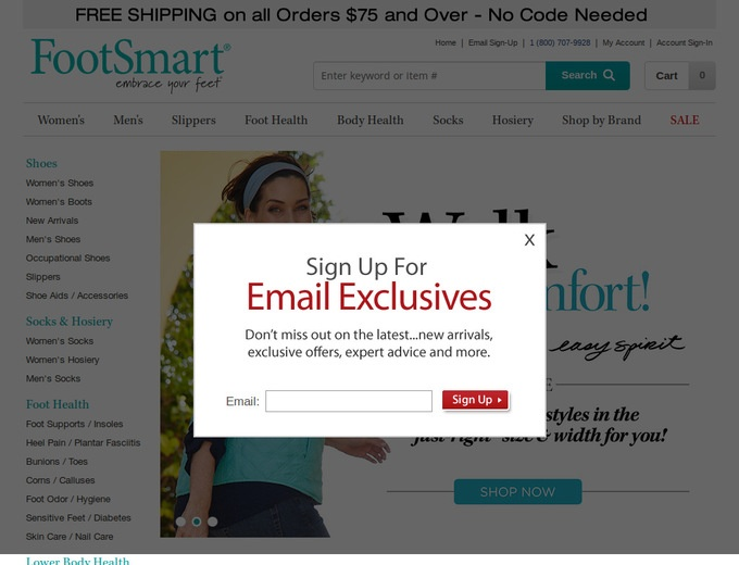 Discount coupons for footsmart