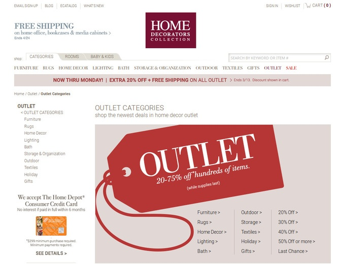 home decorators outlet coupons ForHome Decorators Outlet Coupon Code