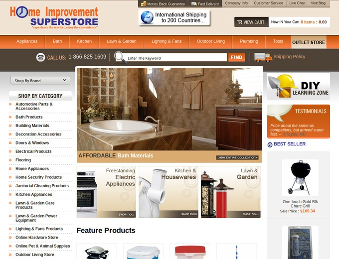 Home Improvement Superstore Coupon Codes Free Shipping Discounts