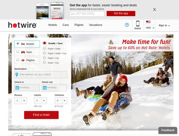 Hotwire discount coupon