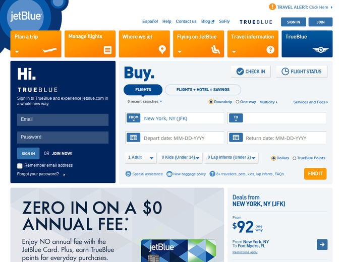 Jet blue coupon code