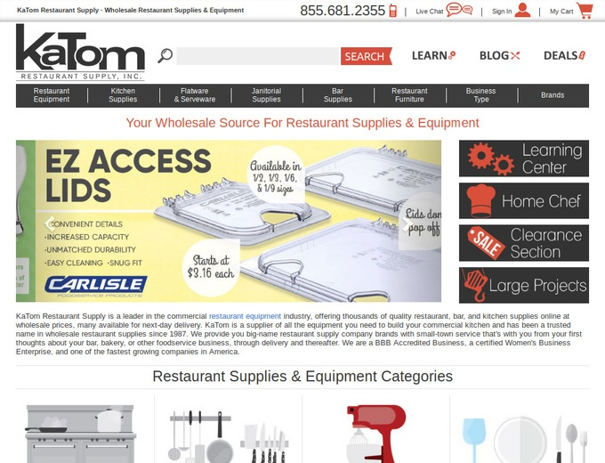 Katom Restaurant Supply Coupons Katom Com Promo Codes