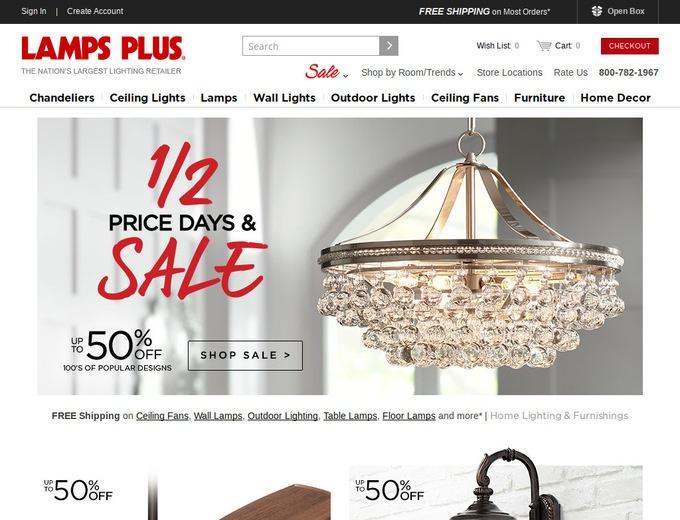 Lamps Plus Coupons & LampsPlus Promotional Codes