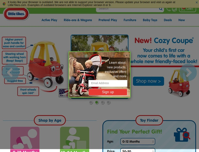 little tikes coupon code toys r us