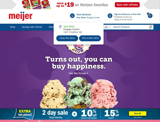 Meijer printable coupons