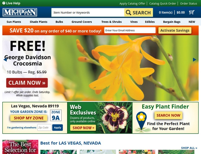 Michigan Bulb Company Coupons Promo Codes