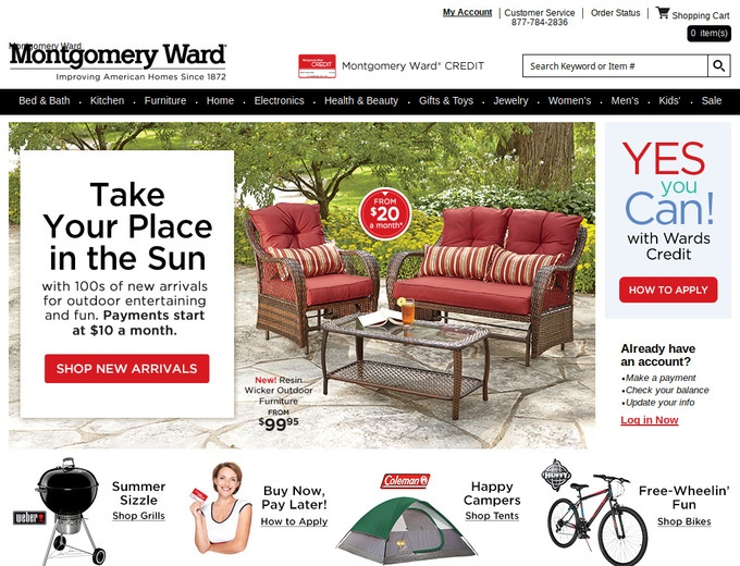 Montgomery wards coupons discounts