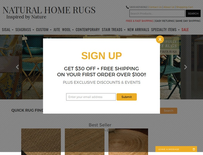 Natural Home Rugs