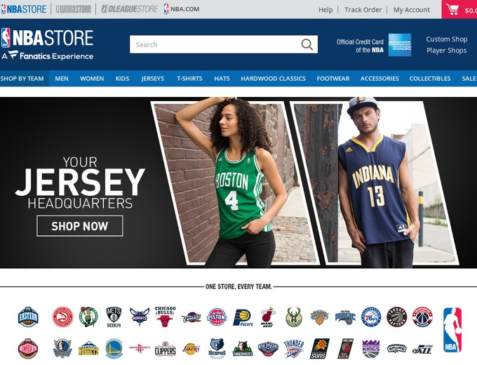 07faebd481e NBA Store Coupons & Promotional Codes