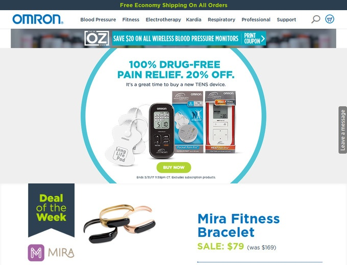 Omron Webstore