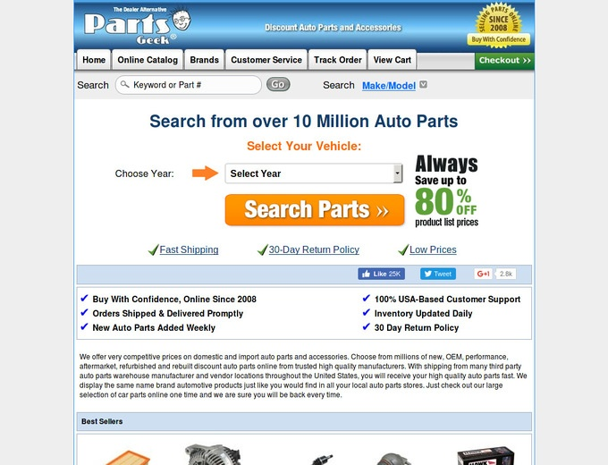 Parts geek coupon code free shipping