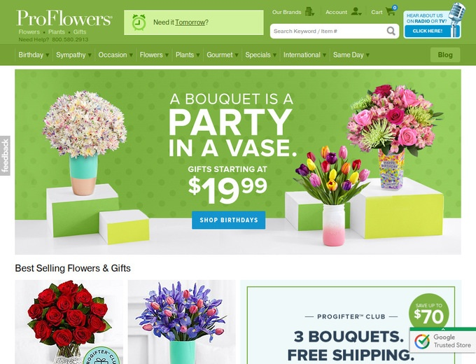 Proflowers.com coupon code