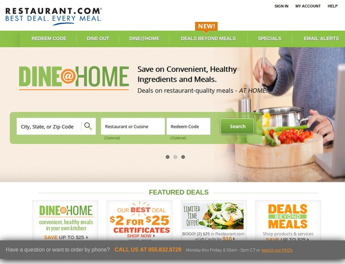 Restaurant.com Coupons & Restaurant Discount Codes