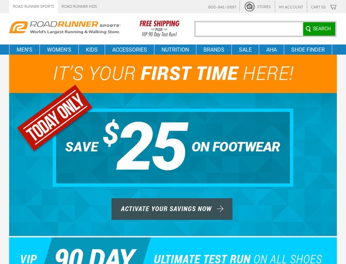 Road Runner Shoes In Store Coupon