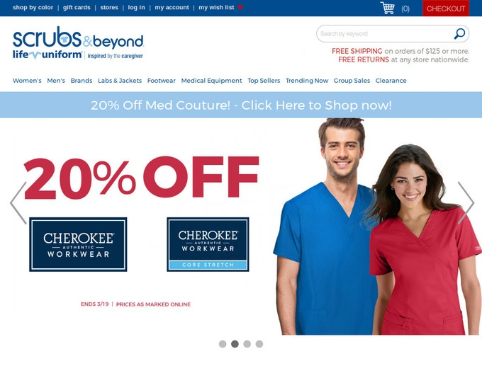 Coupon code for scrubs and beyond