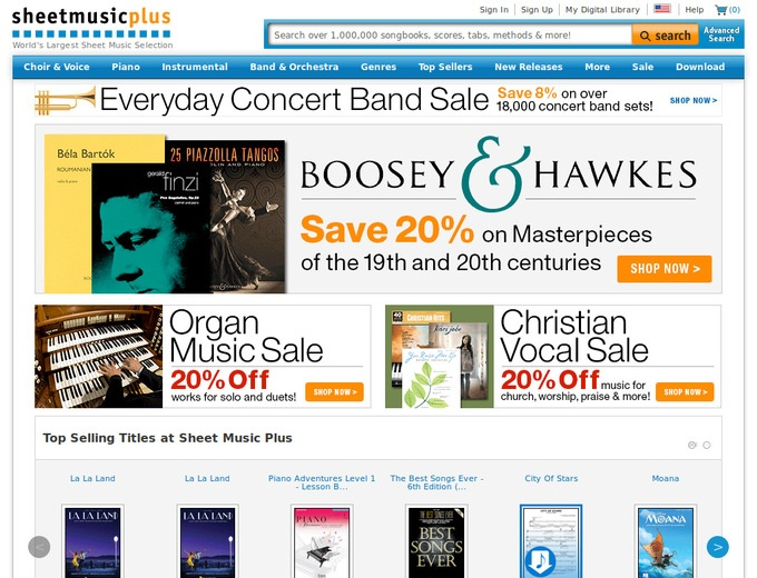 SHEETMUSIC PLUS PROMO CODE