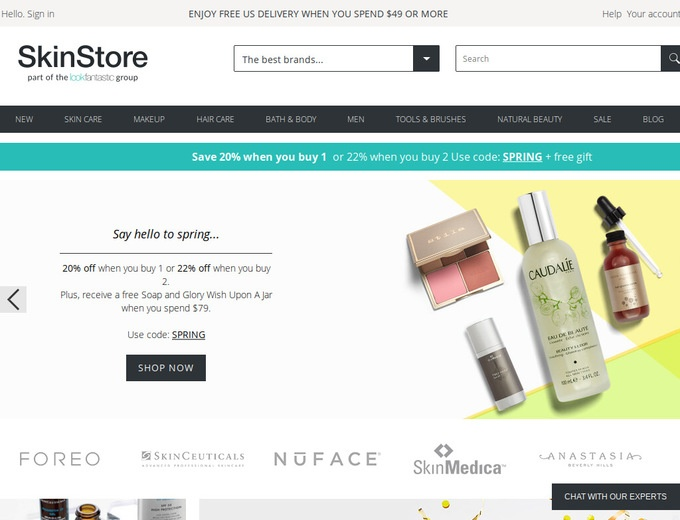 How to use SkinStore Coupons